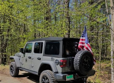 Annual Jeep Flag Ride In July
